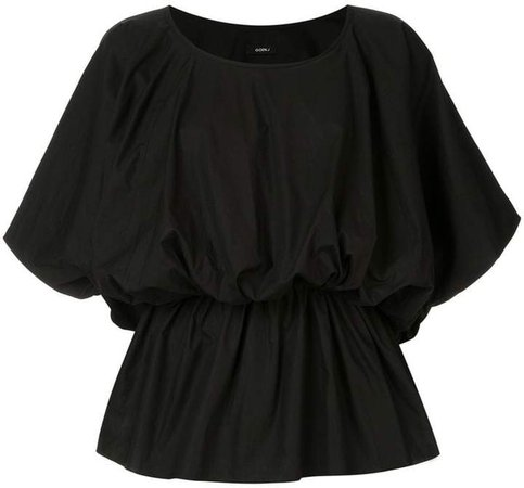 Goen.J elasticated waist blouse