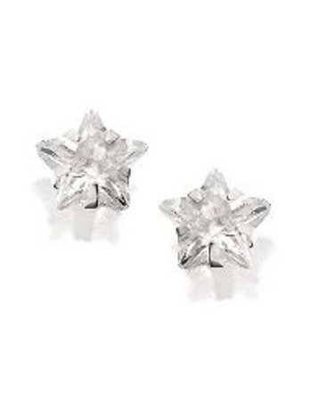 star silver stud earring - Bing images