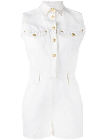 VERSACE PRE-OWNED 1990's sleeveless playsuit $357 - Buy Online - Mobile Friendly, Fast Delivery, Price