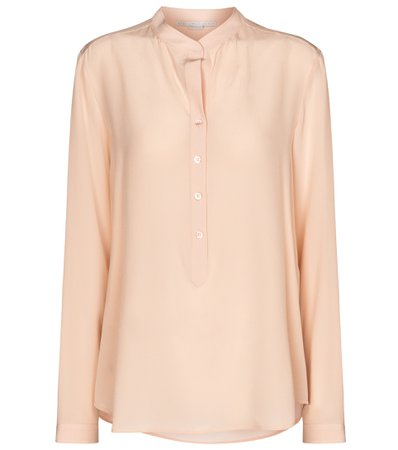 Stella McCartney, Eva Silk Crêpe De Chine Shirt