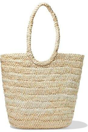 Tappen Woven Straw Tote