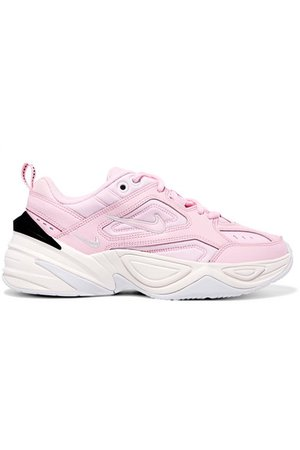 Nike | M2K Tekno leather and neoprene sneakers | NET-A-PORTER.COM