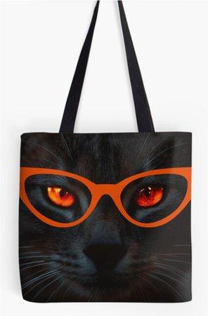Cat Me Black Cat Tote
