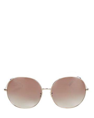 Oliver Peoples Darlen Oversized Round Sunglasses   INTERMIX®
