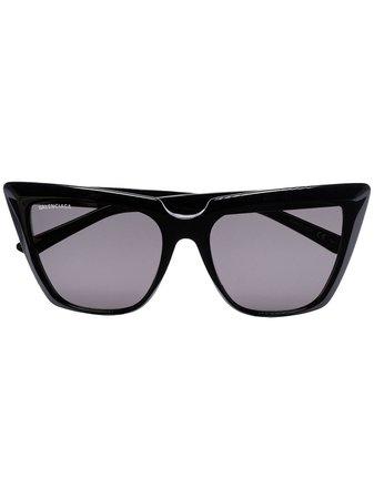 Balenciaga Eyewear Tinted cat-eye Sunglasses - Farfetch