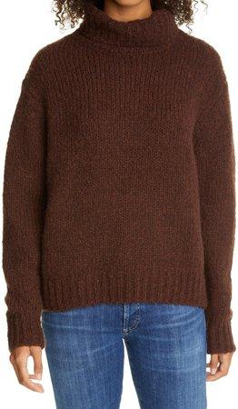 Felicity Wool & Cashmere Turtleneck Sweater