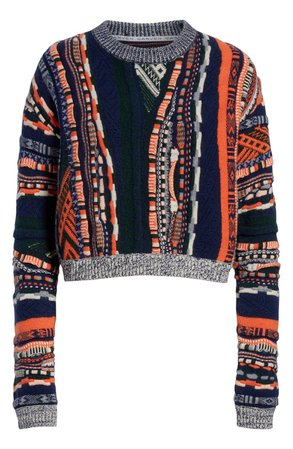 Carven Multistripe Sweater | Nordstrom