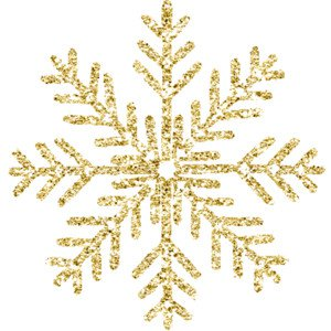 Gold snowflake clipart free - Clip Art Library