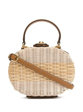 Mark Cross Oval Box Shoulder Bag - Farfetch