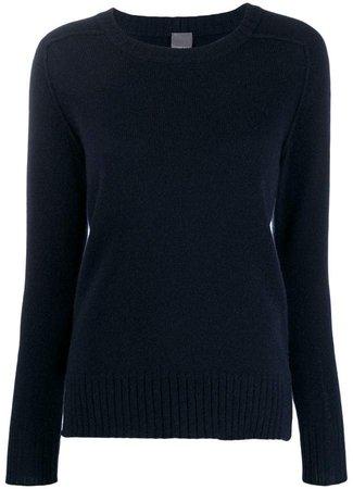 cashmere knitted sweatshirt