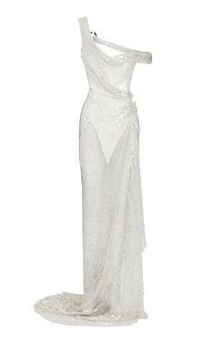 Maticevski Loverlorn Embellished Tulle Gown