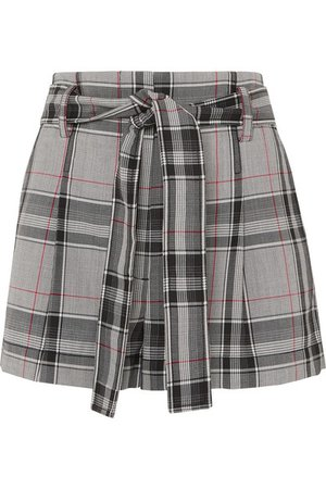 3.1 Phillip Lim | Checked twill shorts | NET-A-PORTER.COM