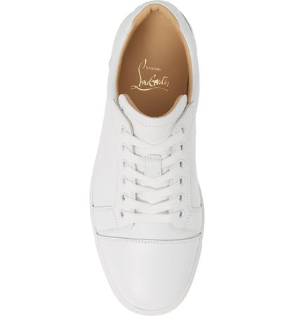Christian Louboutin Vieira Lace-Up Sneaker (Women) | Nordstrom