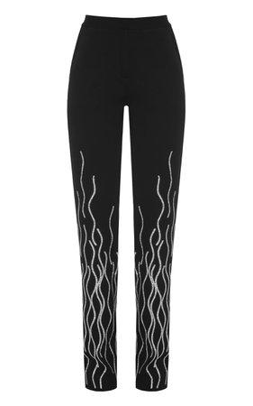 Sparkling Ribbon Pants by Lado Bokuchava | Moda Operandi