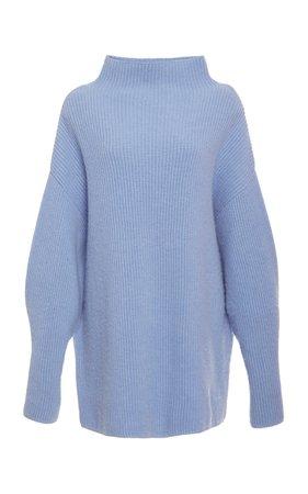Ribbed Wool-Cashmere Blend Turtleneck Sweater by Co   Moda Operandi