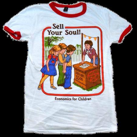 creepy vintage shirt 1