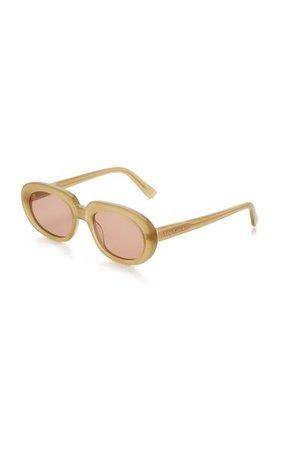 Riviera Round-Frame Acetate Sunglasses By Velvet Canyon | Moda Operandi