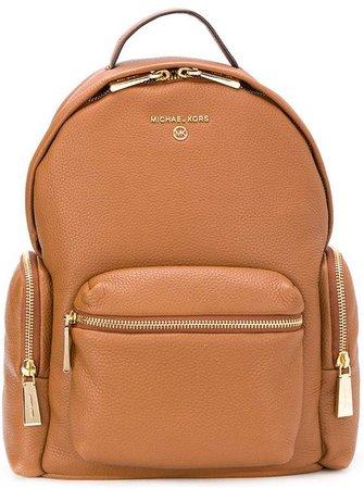 Double Zip Logo Backpack