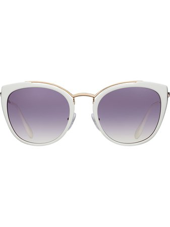Prada Eyewear Gradient Lens Sunglasses - Farfetch