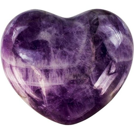 purple amethyst heart png filler