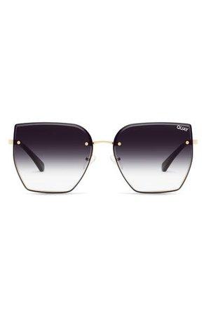 Quay Australia x Lizzo Around the Way 63mm Angular Sunglasses | Nordstrom