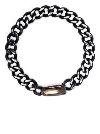 Marni curb-chain Chunky Necklace - Farfetch