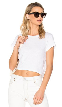 RE/DONE 1950's Boxy Tee in Vintage White | REVOLVE