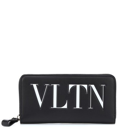 Valentino Garavani VLTN leather wallet