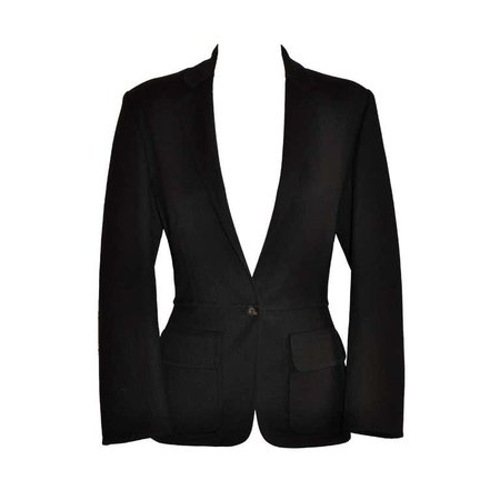 Gucci black blazer For Sale at 1stdibs