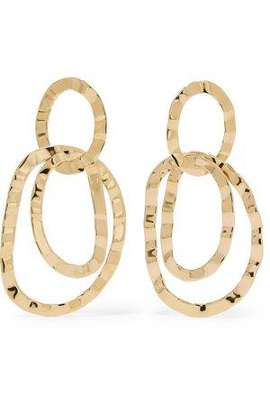 Isabel Marant | Gold-tone earrings | NET-A-PORTER.COM