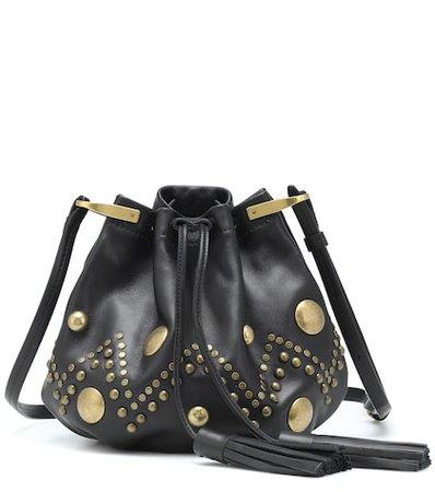 Kylio leather bucket bag