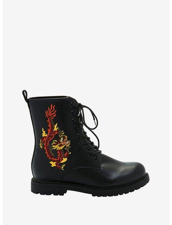 Dragon Combat Boots