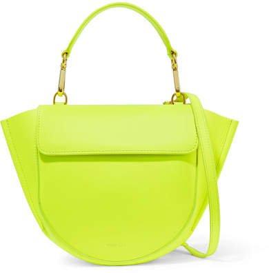 Wandler Mini Leather Shoulder Bag - Yellow