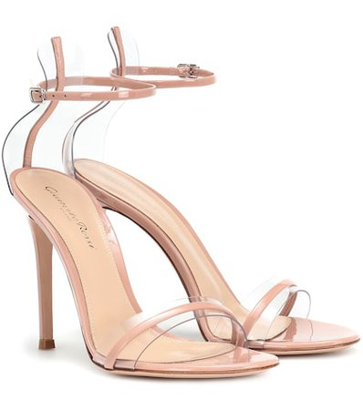 G-string leather sandals