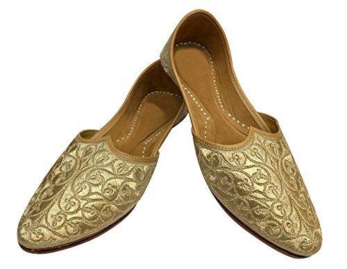 Step n Style Maharaja Look Old Mens Khussa Shoes Mojari Punjabi Jutti Leaher Shoes - Desi Bazar | HamaraBizar | Online Desi Store