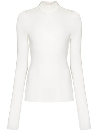 Remain Margot Roll Neck Top - Farfetch