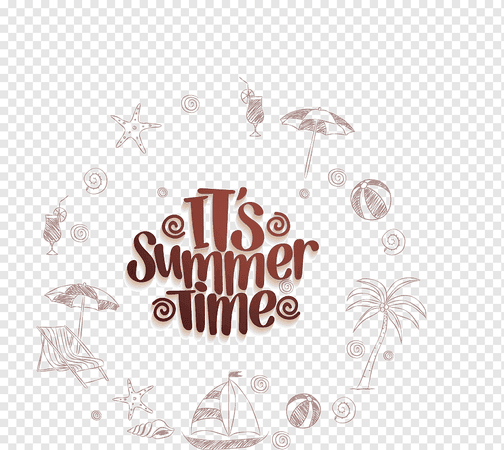 png-transparent-summer-drawing-illustration-summer-elements-text-photography-poster.png (920×822)