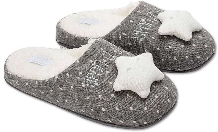 New Cute Star Women Home Slippers Warm Winter House Shoes For Indoor Bedroom Cotton Shoes Girls Ladies Room