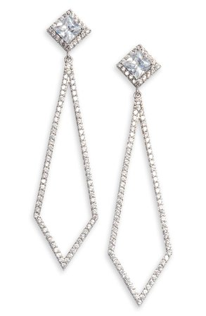 Nordstrom Pavé Drop Earrings | Nordstrom