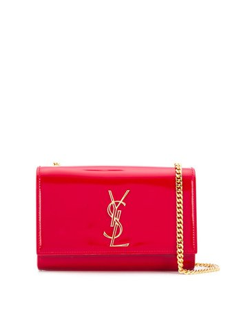 Saint Laurent Kate Patent Leather Shoulder Bag