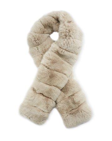 Loro Piana Sciarpina Fur Collar Scarf | Neiman Marcus
