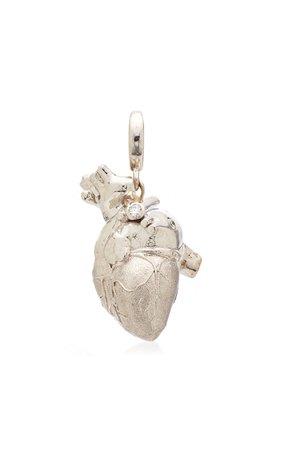 Luis Morais Anatomical Heart Charm