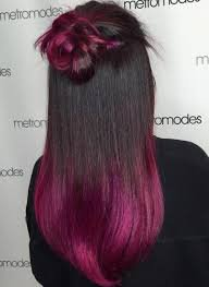 black hair ombre pink - Google Search