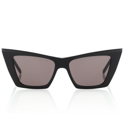 Cat-Eye Acetate Sunglasses | Saint Laurent - Mytheresa