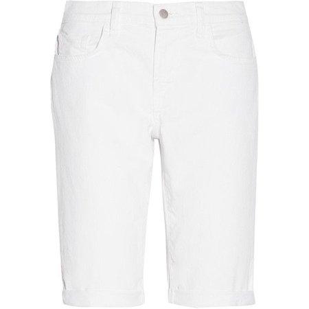 J Brand  Beau Bermuda Denim Shorts ($100)