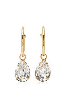 Jane Crystal-Embellished Gold-Plated Earrings By Jennifer Behr | Moda Operandi