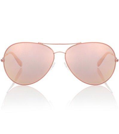 Sayer 63 mirrored aviator sunglasses