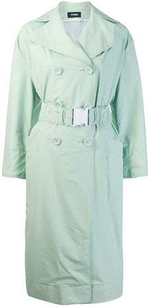 oversized belt trench coat