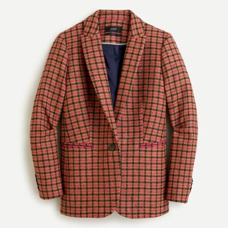 J.Crew: Parke Blazer in houndstooth herringbone English wool