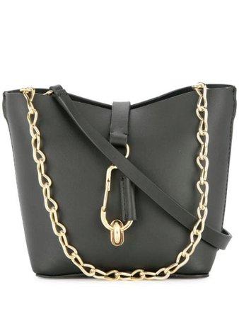 Zac Zac Posen Belay Mini Chain Hobo Bag ZP5411001 Black | Farfetch